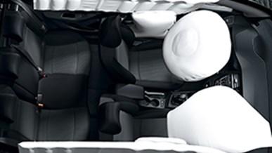 Seks airbags