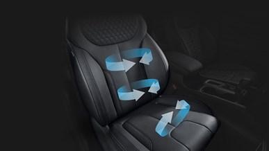Opvarmede og ventilerede sæder