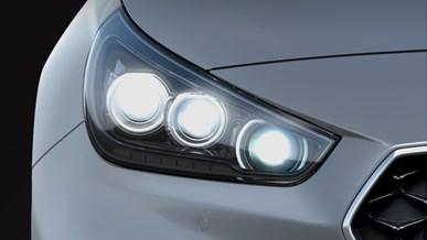 Avancerede LED-forlygter