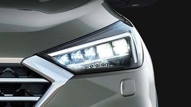 Forlygter med fuld LED og LED-blinklys