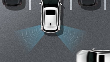 Advarsel for bagvedkrydsende trafik (RCCW)