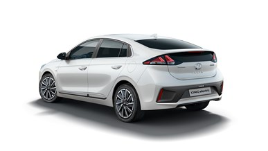 HY Ioniq EV High 34Rear Taillights On Layered