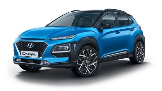 Hyundai Modeloversigt KONA Hybrid V2
