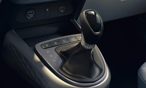 Opdateret motor og gearkasse