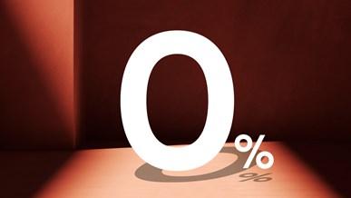 Finansiering: 0% i rente
