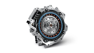 Kraftfuld elektrisk motor