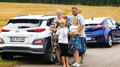 Familien Luttermann overvandt rækkeviddeangsten