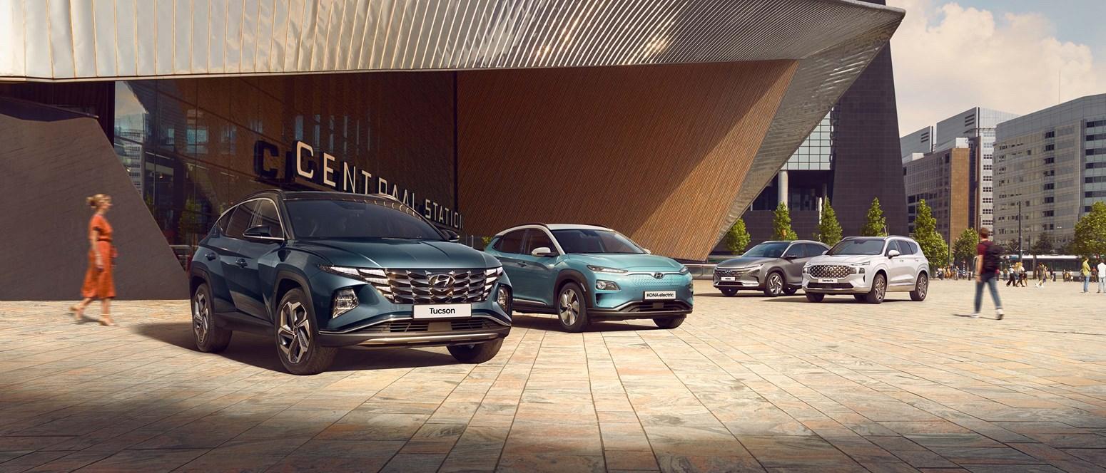 Markedets bredeste udvalg af elektriske SUV'er