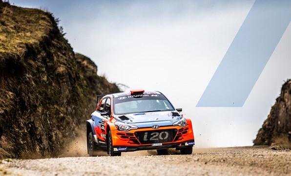 R5 Rally Car Racing