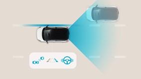 Aktiv blindvinkel-sensor (BCA)