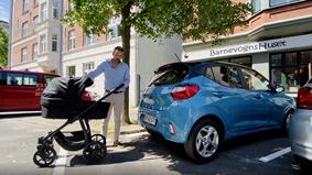 Hyundais store barnevognstest